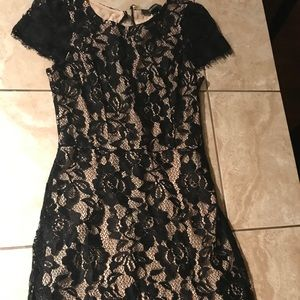 Forever 21 Black Lace Dress- Small